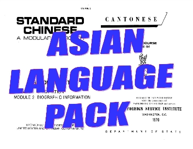 Asian Languages Pack 110
