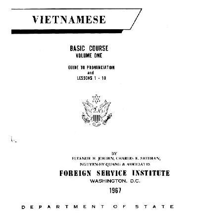 THE EVERYTHING 4 LESS STORE :: FSI VIETNAMESE BASIC COURSE