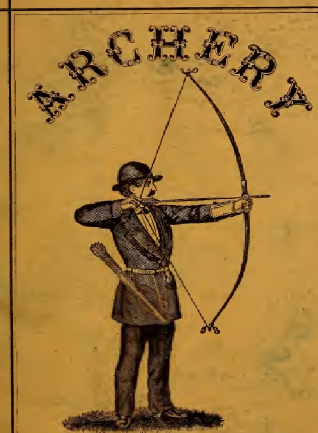Vintage bows and arrows