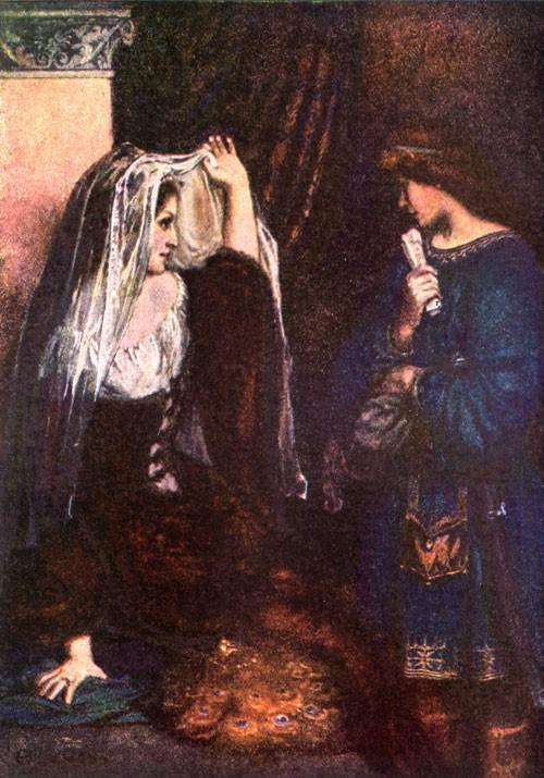 IVAN BILIBIN ILLUSTRATION FAIRY TALE VASILISA BEAUTIFUL 1900 ART PRINT 1390OMB